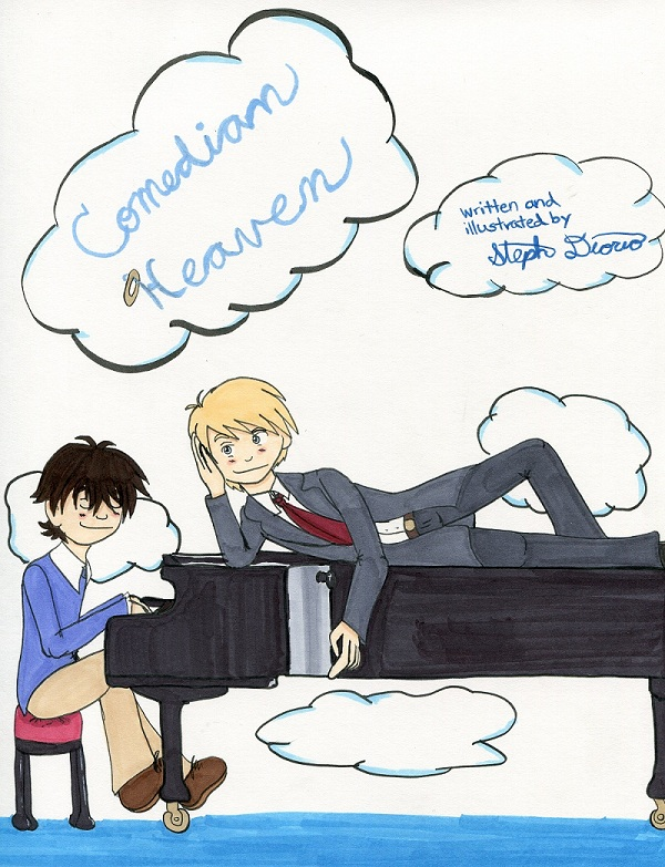 Splash Page 1: Peter and Dudley At The Piano